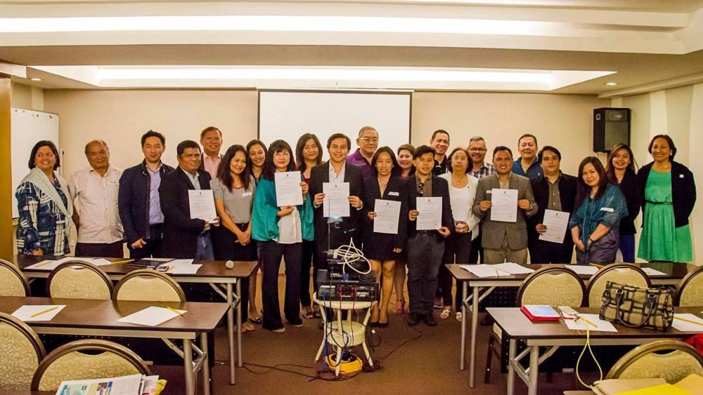New Cebu South Board Officers Take Oath of Office