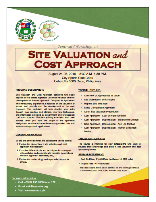USC Site valuation